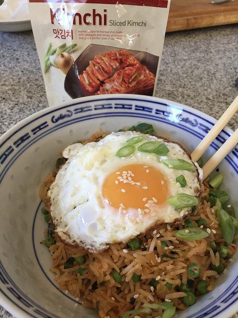 Kimcie fried rice