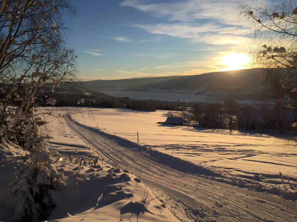 Daily routine in Lillehammer