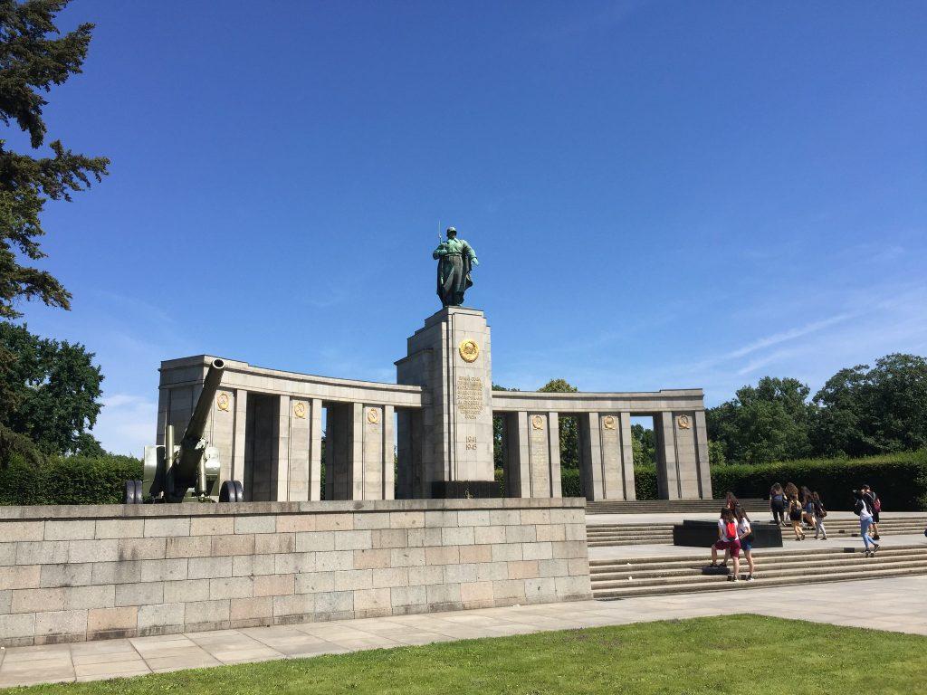 Sovjet Oorlogsmonument Berlijn