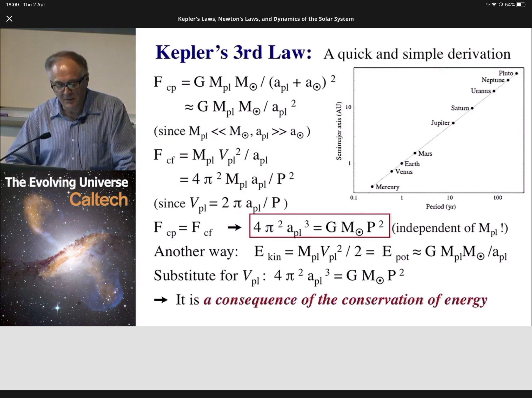 Studeren via internet Evolving Universe